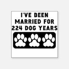 32nd Anniversary Dog Years Sticker