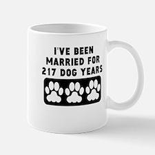 31st Anniversary Dog Years Mugs
