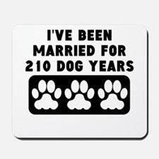 30th Anniversary Dog Years Mousepad
