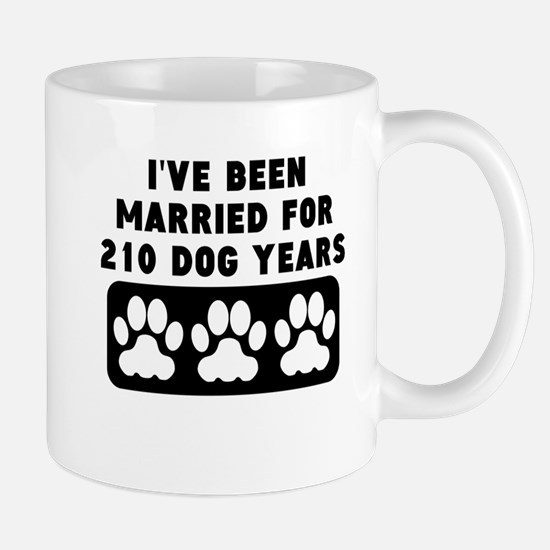 30th Anniversary Dog Years Mugs