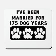 25th Anniversary Dog Years Mousepad