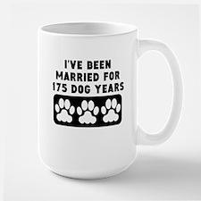 25th Anniversary Dog Years Mugs