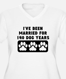 20th Anniversary Dog Years Plus Size T-Shirt