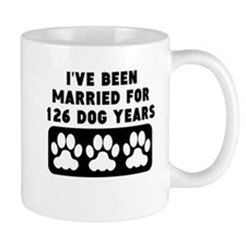 18th Anniversary Dog Years Mugs