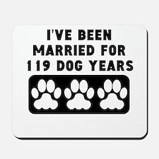 17th Anniversary Dog Years Mousepad