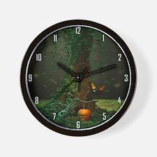 Halloween Night Wall Clock