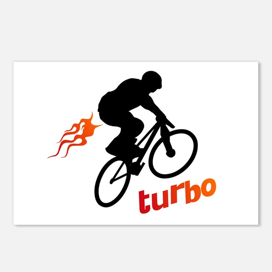 Turbo (fart / BMX) Postcards (Package of 8)