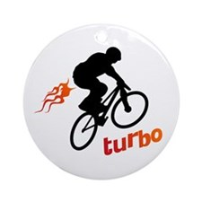 Turbo (fart / BMX) Ornament (Round)
