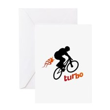 Turbo (fart / BMX) Greeting Card