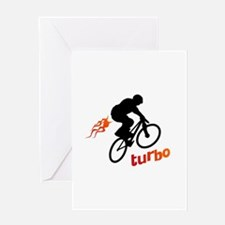 Turbo (fart / BMX) Greeting Card