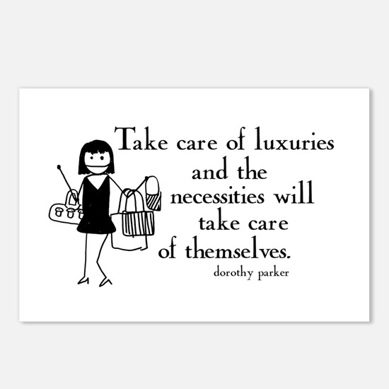 Luxuries Postcards (Package of 8)
