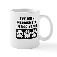 2nd Anniversary Dog Years Mugs