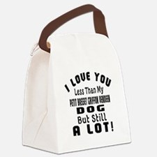Petit Basset Griffon Vendeen dog Canvas Lunch Bag