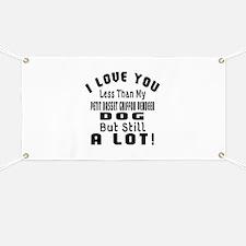 Petit Basset Griffon Vendeen dog designs Banner