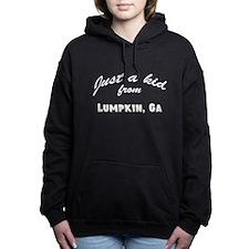 Just a kid from Women's Hooded Sweatshirt