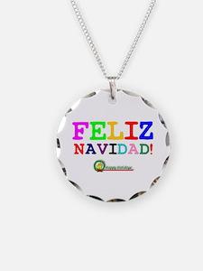 CHRISTMAS - FELIZ NAVIDED - Necklace