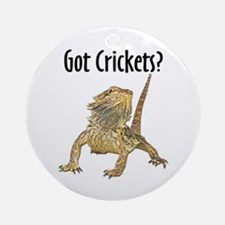 Beardie 10x10.jpg Round Ornament