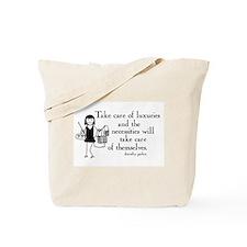 Luxuries Tote Bag
