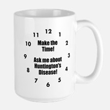 Make The Time! Ask Me About Hd! MugMugs