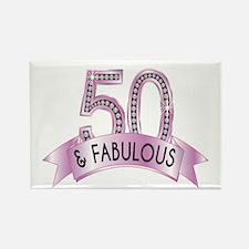 50 & Fabulous Diamonds Magnets