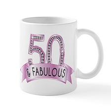 50 & Fabulous Diamonds Mugs