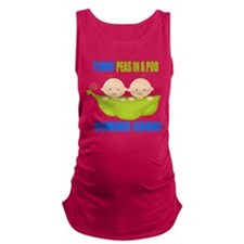 Cool Twin baby Maternity Tank Top