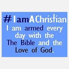 #IamAChristian Armed