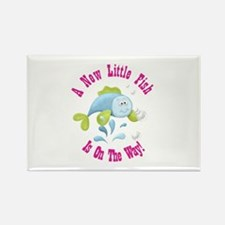 Cute Keepsake favors baby shower Rectangle Magnet