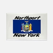Northport New York Rectangle Magnet