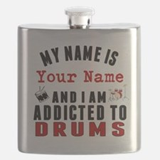 Addicted To Drums Flask