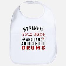 Addicted To Drums Bib