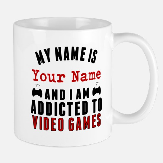 Addicted To Video Games Mugs