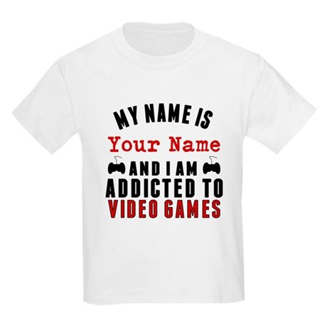 CafePress Addicted To Video Games T-Shirt