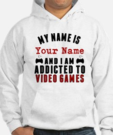 Addicted To Video Games Hoodie