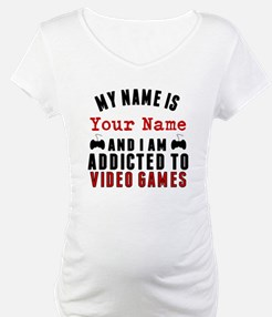 Addicted To Video Games Shirt
