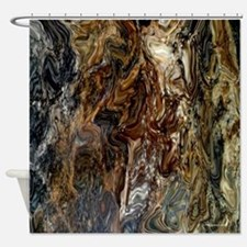 Marble Home Decor Shower Curtain