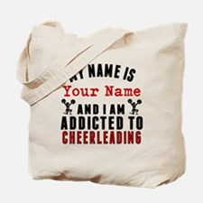 Addicted To Cheerleading Tote Bag
