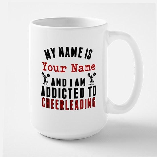 Addicted To Cheerleading Mugs