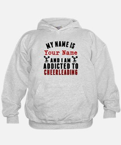 Addicted To Cheerleading Hoodie