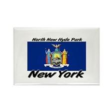 North New Hyde Park New York Rectangle Magnet
