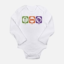 Funny Reader Long Sleeve Infant Bodysuit