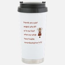 FRIENDS ARE... Stainless Steel Travel Mug