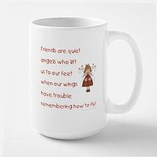 FRIENDS ARE... Large Mug