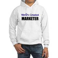 Worlds Greatest MARKETER Hoodie