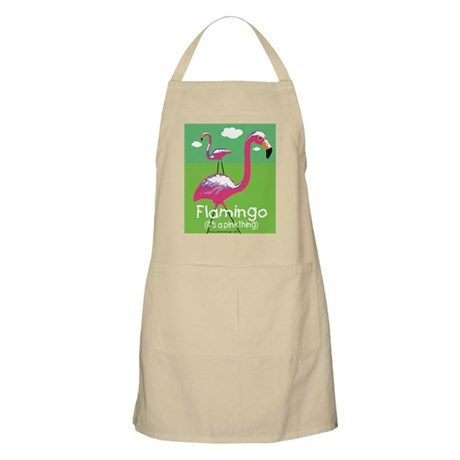 Flamingo a Pink Thing BBQ Apron