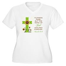 ISAIAH 40:8 Plus Size T-Shirt