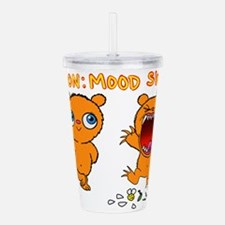 Mood Swings Acrylic Double-wall Tumbler
