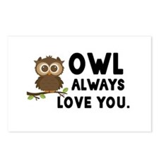 Owl Always Love You Postcards (Package of 8)