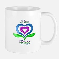 I Love Bingo Hearts Mug