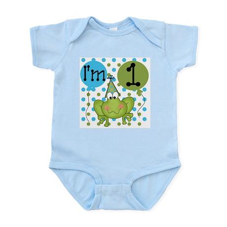 Frog 1st Birthday Infant Bodysuit